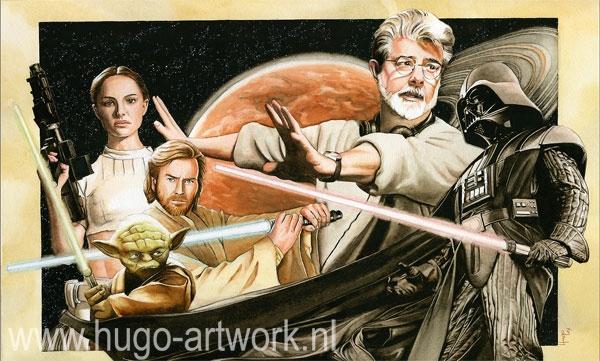 George Lucas por HugoBaur